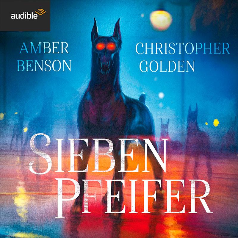 Hörbuch SIEBEN PFEIFER, gesprochen von Florian Jung